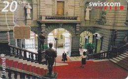 SWITZERLAND - 09:00 Parliament/Berne, chip Siemens 35, 06/01, used