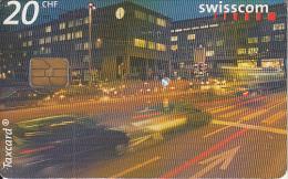 SWITZERLAND - 18:00 Rush hour/Zurich, 11/00, used