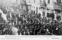 Postcard / Begrafenis / Burgemeester Lodewijk Moorkens / 26 September 1904 / Borgerhout / Ed. W. Dalleu - Funérailles