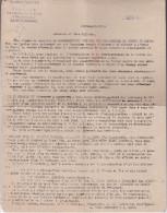 Courriers De Demande De DONS Pour Centres D'Accueil PRISONNIERS LIBÉRÉS - ST ETIENNE LOIRE - Historische Dokumente
