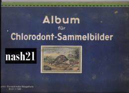 Album Ancien D´ Images En Allemand, 20 Pages De 6 Images Sur Les Mammifères Européens - Livres Pour Enfants