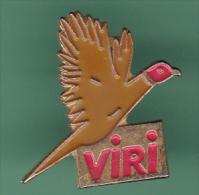 47482-Pin's.Viri.chasse.Faisan..oiseau.. - Tiere