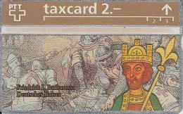 SWITZERLAND(L&G) - Friedrich I Barbarossa/Deutscher Kaiser, CN : 324L 20671, tirage 10000, 04/93, mint