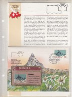 SWITZERLAND(L&G) - Philswiss/Finsteraahorn(with FDC), CN : 306L, tirage 3000, 06/93, mint