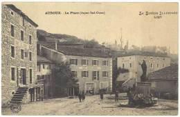Auroux - La Place ( Aspect Sud-ouest ) - France