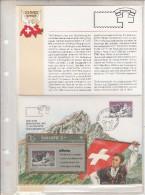 SWITZERLAND(L&G) - Philswiss/Les Diablerets(with FDC), CN : 306L, tirage 3000, 06/93, mint