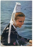 Jeune Fille En Costume Du Pays Glazick : La Borleden - Non écrite 2 Scans - France