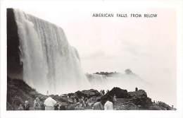 American Fall From Below - Chutes Du Niagara