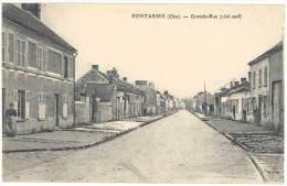 Pontarmé ( Oise ) - Grande Rue ( Côté Sud ) - France