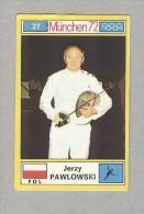 JERZY PAWLOWSKI..TENNIS..COURT DE TENNIS...OLIMPIADI...OLYMPIC - Trading Cards