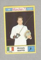 MICHELE MAFFEI.. .TENNIS..COURT DE TENNIS...OLIMPIADI...OLYMPIC - Trading Cards