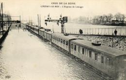 - CHOISY Le ROI - Crue De La Seine, L'express De Limoges (animée) -3143- - Choisy Le Roi