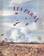 LES PARAS PARACHUTISTE TAP TROUPES AEROPORTEES GUERRE ALGERIE 1957 BERET ROUGE - Libri