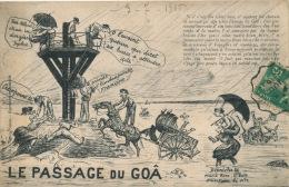 LE PASSAGE DU GOA - Carte Humoristique - Sonstige Gemeinden
