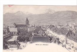 25515 SUISSE - BULLE Et Le Molèson - Moleson - 298B CMB - FR Fribourg