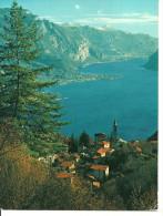 Civenna (Como, Lombardia) Panorama - Veduta Del Ramo Di Lecco, View Of The Lecco´s Arm - Como