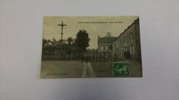 53 SAINTE ANNE DE BULEU Mayenne PLACE DE L EGLISE Pays Loire CPA Postcard Animee - France