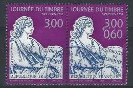 HH-/-555-.  TYPE MOUCHON, N° 3052A,  OBL.  COTE 4.00 € , TTB, Voir Scan Pour Detail - Francia