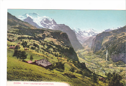 25517 SUISSE , BERNE , Lauterbrunnental 3684 Wehrli AG Zurich