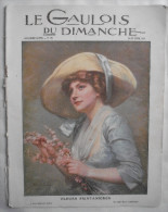 LE GAULOIS du DIMANCHE.1913:JEANNE D�ARC . ROME . PAPE PIE X .SALON de BEAUX-ARTS. ALBANIE .FEMMES-ARMEES..SAINTE-HELENE