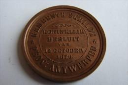 Antwerpen 12 Oct 1878 - Professionnels / De Société
