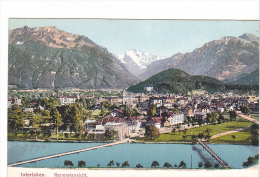 25519 SUISSE , Interlaken Generalansicht -7911 Gabler - - BE Berne