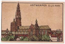 Antwerpen: O.L.V. Kerk. (Erster Weltkrieg, 1915) - Antwerpen