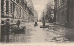 CPA - PARIS - Inondations De Janvier 1910 - La Rue De Lille - LL N° 214 - Inondations De 1910