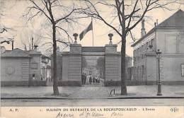 PARIS ( 14 ème ) MAISON DE RETRAITE DE LA ROCHEFOUCAULD Avenue D'Orléans : L'Entrée - CPA - Seine - Distretto: 14