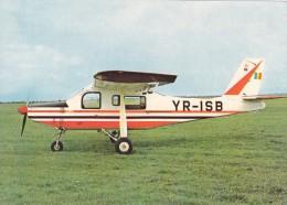AIRPLANE, AVION LEGER A UTILISATIONS MULTIPLES IAR 824, POSTCARD ROMANIA. - 1946-....: Moderne