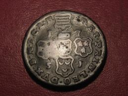 6802 Liege - Jean-Theodore De Bavière (1703-1763) - 4 Liards 1751 Star - ...-1831