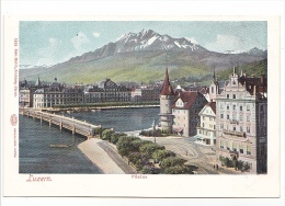 25404 SUISSE Luzern Lucerne -pilatus -1829 Gebr Wehrli Zurich - Autochrom Glaser -colorisée