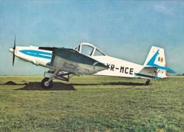 AIRPLANE, AVION AGRICOLE IAR 822, POSTCARD ROMANIA. - 1946-....: Moderne