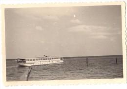 Photo Originale de Bateaux de plaisance - Excursion, le 02 mai 1940 - L�gende au dos - Freizeitboote - Excursion, 1940