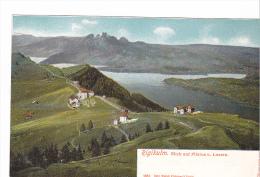 25407 SUISSE Luzern Lucerne -Rigikulm Blick Auf Pilatus Luzern -1660 Gebr Wehrli Zurich -  -colorisée