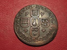 7064 Liege - Sede Vacante - Liard 1744, LAMBERTUS, LEOD. - Belgium