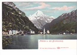 25408 SUISSE Luzern Lucerne -Fluelen U Der Bristenstock -1897 Gebr Wehrli Zurich Glazer-  -colorisée - LU Lucerne
