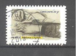 France Autoadhésif Oblitéré N°1084 (Le Toucher, Gestes De La Main) (cachet Rond) - France