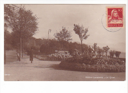25412 SUISSE Ouchy Lausanne -le Quai -10463 Ed Perrochet Matile - - VD Vaud