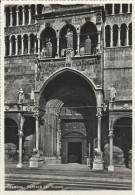 2713) CREMONA PORTALE DEL DUOMO NON VIAGGIATA ANNI 50 - Cremona