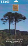 1 Télécarte CHILI Lot7 (bon état) - Cile