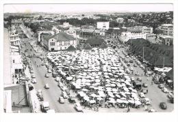 RB 1069 -  1962 Real Photo Postcard - Tananarive Market Malagasy Madagascar Africa 25c Rate France - Madagascar