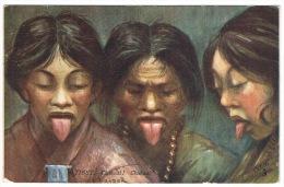 RB 1069 -  Early Raphael Tuck Ethnic Postcard - Chakzal Chakzal - Tibet China - Tibet