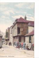 25414 -3 Cpa- Fishmarket & Lower Sandgate Road & Harbour Fishing Portion / Folkestone -upton´s Series -colorisée - Folkestone
