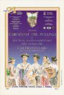 *ITALIA  - CALABRIA: CASTROVILLARI (CS) - CARNEVALE DEL POLLINO 1995* - Cartolina NUOVA - Cosenza