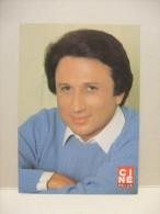 Carte CINÉ-REVUE Dédicacée MICHEL DRUCKER 1983 - Autographes