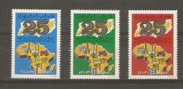 Libye - Libya - Agriculture - 25 Anniv. Pan African Economic Commitee -  YT115//1157** - Pétrole, Vache, Tracteur - Libya