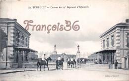 (31) Toulouse - Caserne Du 14éme Régiment D'Infanterie - Soldats Militaires Militaria - 2 SCANS - Toulouse