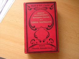 Nuevo Diccionario Enciclopedico Ilustrado De La Lengua Castellana Toro Y Gomez Miguel De - Diccionarios, Enciclopedias