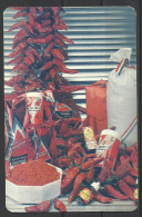 Hungary, The Famous Hungarian Paprika(Red Pepper) From  Kalocsa,  1991. - Calendari